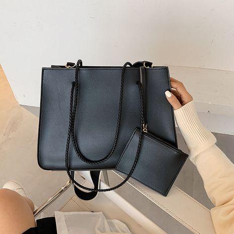 shoulder simple soft leather messenger large bag  NHJZ279910's discount tags