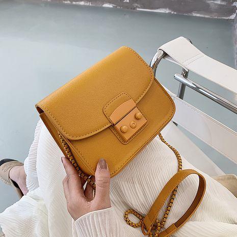 Kleine quadratische Tasche des koreanischen Schulterboten NHJZ279918's discount tags