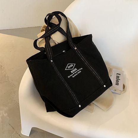 canvas one-shoulder portable messenger bag NHJZ279921's discount tags