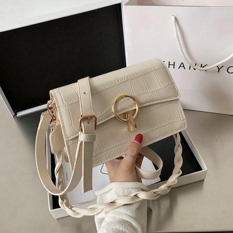 petit sac carré de messager à bandoulière unique NHJZ279926's discount tags