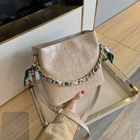 sac à bandoulière rétro décontracté à motif crocodile NHJZ279930's discount tags