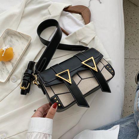 sac à bandoulière rétro à une épaule NHJZ279932's discount tags