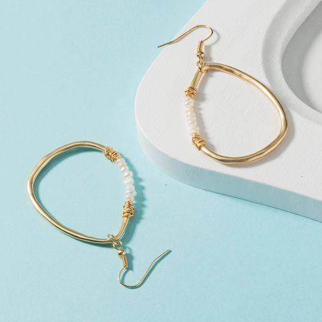 creative aventurine natural stone earrings NHAN280071's discount tags
