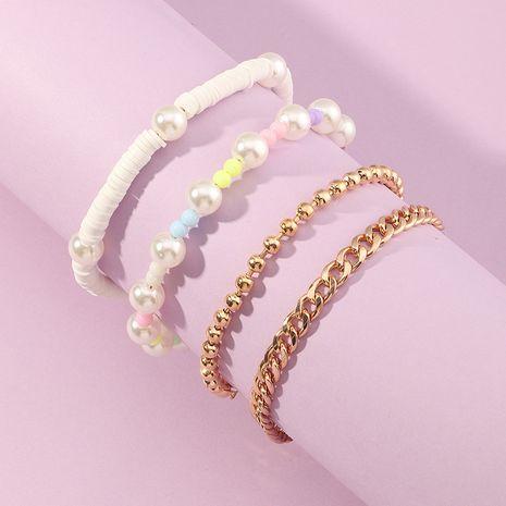 Ensemble de bracelet de perles de riz coréen perles de riz en céramique NHNU280132's discount tags