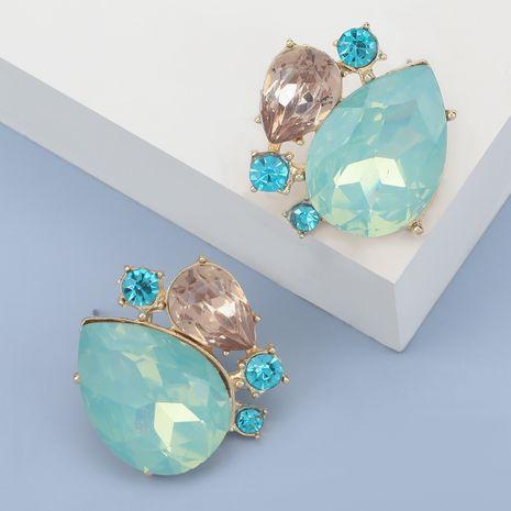 Boucles d'oreilles fantaisie en forme de goutte en acrylique cloutées de diamants NHJE280169's discount tags