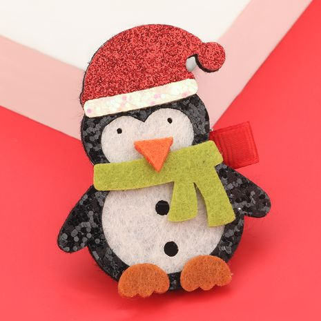 Weihnachtsserie Flanellpinguin Haarnadel NHJE280189's discount tags