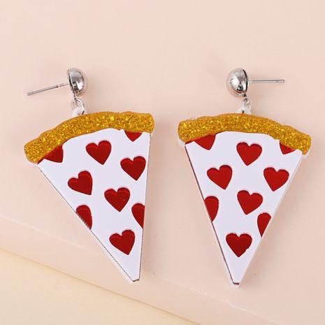 Boucle d'oreille coeur triangle géométrique en acrylique de Corée NHJJ280198's discount tags