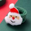 Mueco de nieve lindo mueco de nieve oso pop anillo NHLN280210