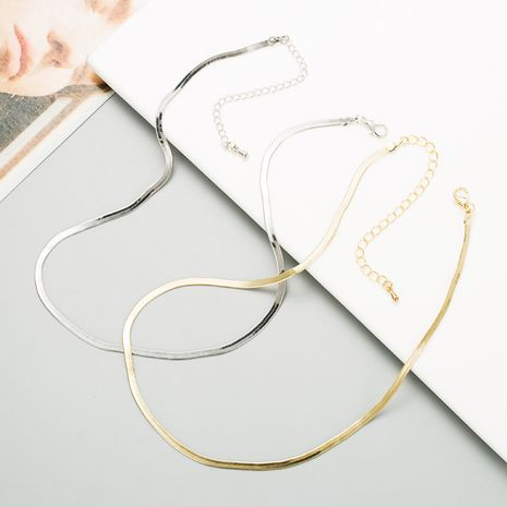Titan Stahl Mode Halskette NHLN280265's discount tags