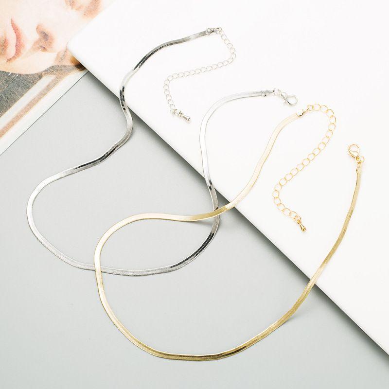 titanium steel fashion necklace  NHLN280265