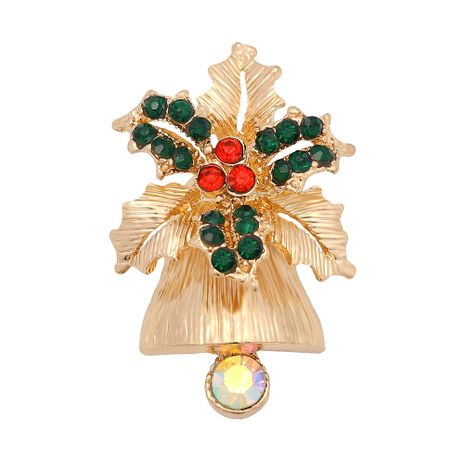Mode Strass farbigen Diamant Weihnachtsbaum Brosche NHJQ280274's discount tags