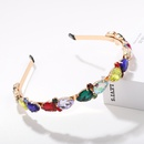 crown rhinestone alloy headband  NHJQ280283