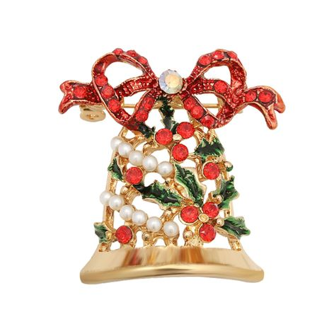 Kreative Weihnachtsdiamantglockenbrosche NHJQ280287's discount tags
