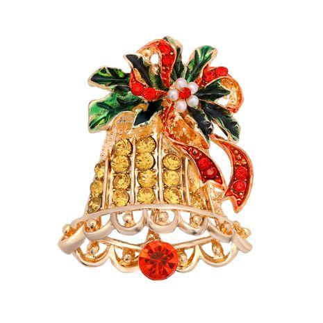 Weihnachtsbroschen Diamanten Glockenbroschen NHJQ280289's discount tags