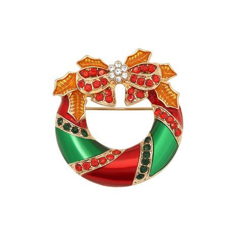 Retro kreative Bogenbrosche des Weihnachtsdiamanten NHJQ280288's discount tags