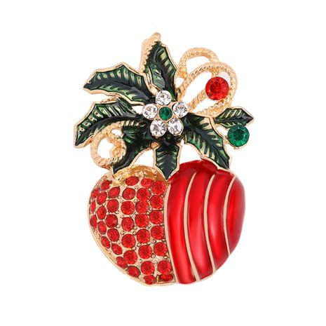 Weihnachten neue Diamant Mode Brosche NHJQ280291's discount tags