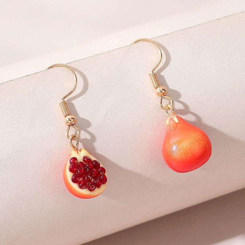 Korean  creative personality simple  pomegranate earrings NHPS280307