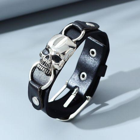 bracelet pour homme crâne exagéré créatif de mode NHPS280317's discount tags