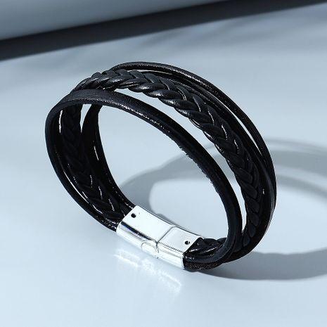 bracelet pour homme à la mode simple NHPS280318's discount tags