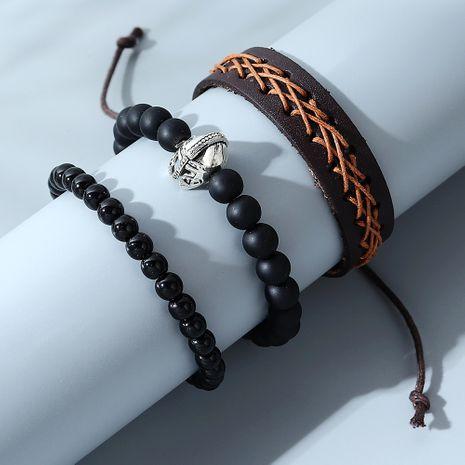 ensemble de bracelet pour homme de casque romain créatif sauvage de mode NHPS280321's discount tags