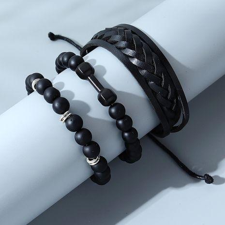 Ensemble de bracelets pour hommes à la mode coréenne simple NHPS280326's discount tags