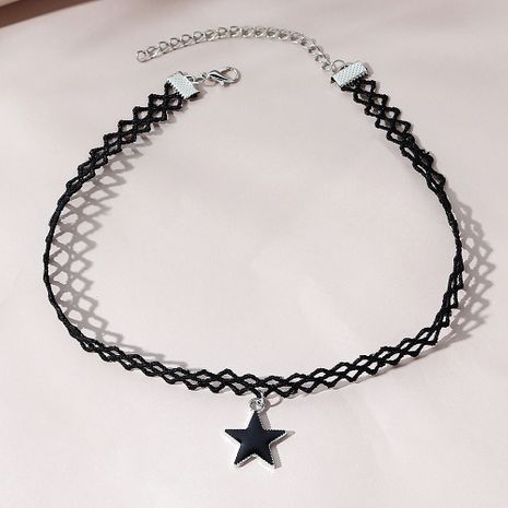 fashion  all-match small five-star necklace NHPS280330's discount tags