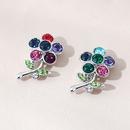 Korean  simple  wild flower earrings NHPS280352