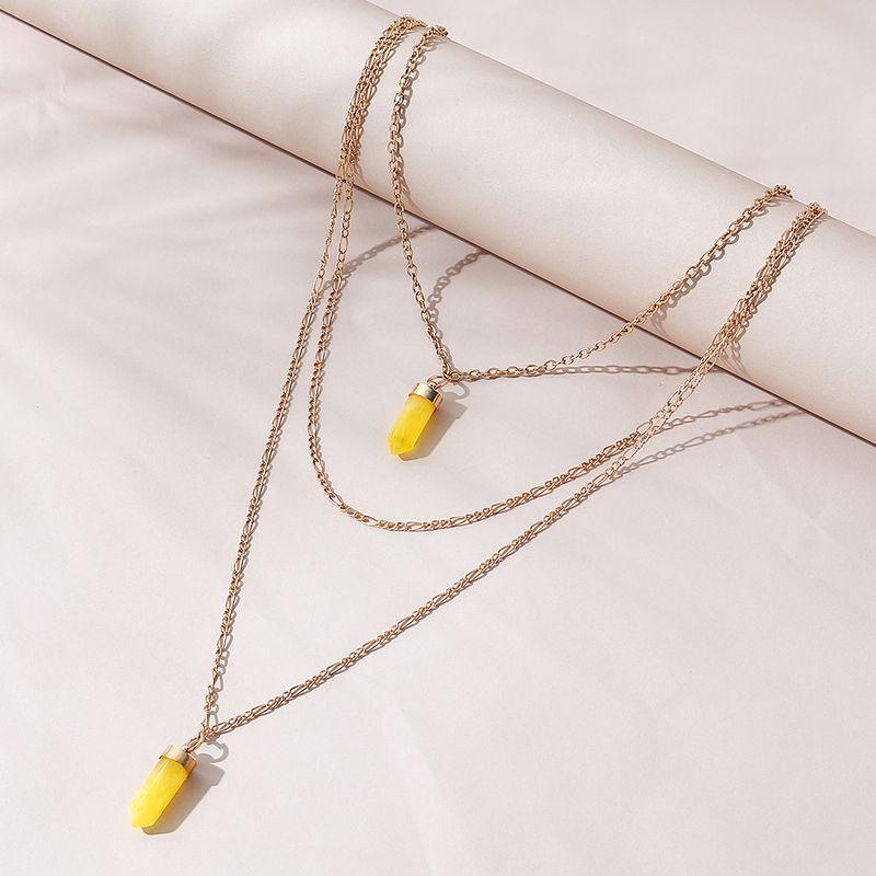 Collar multicapa creativo de moda simple coreana NHPS280356