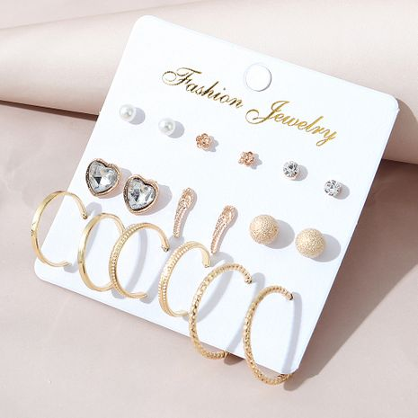 Korean  simple  fashion all-match earring set NHPS280357's discount tags