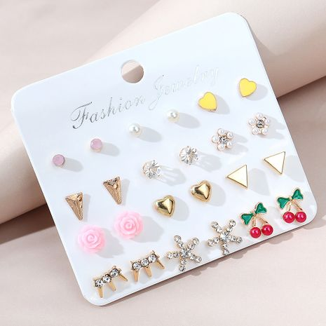 creative wild fashion small fresh earring set NHPS280359's discount tags