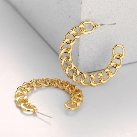 alloy C-shaped irregular earrings NHPJ280373's discount tags