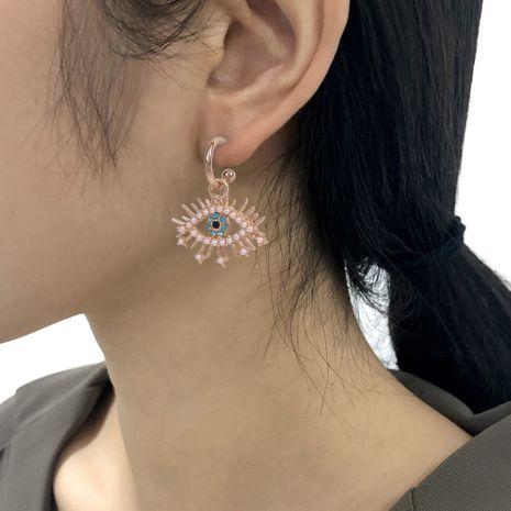 boucles d'oreilles à pampilles créatives personnalisées oeil du diable NHMD280380's discount tags