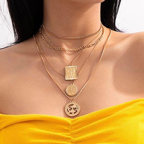 collar con etiqueta de Piscis de moda con borla de mariposa NHXR280452's discount tags