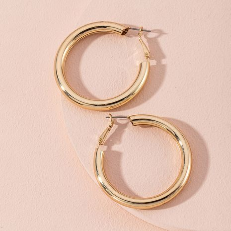 exaggerated new simple circle big earrings NHAI280531's discount tags