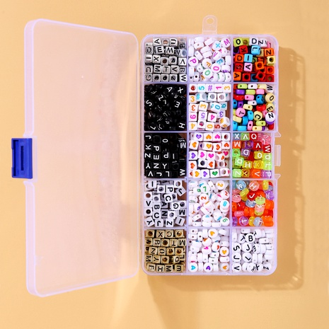 DIY handmade jewelry loose  letter beads box set NHYI289651's discount tags
