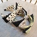 new Korean big bow  super fairy retro wave nodding headband NHUX289702