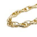 punk thick twist necklace NHDM289719