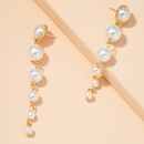 S925 silver needle pearl retro earrings NHAI289731