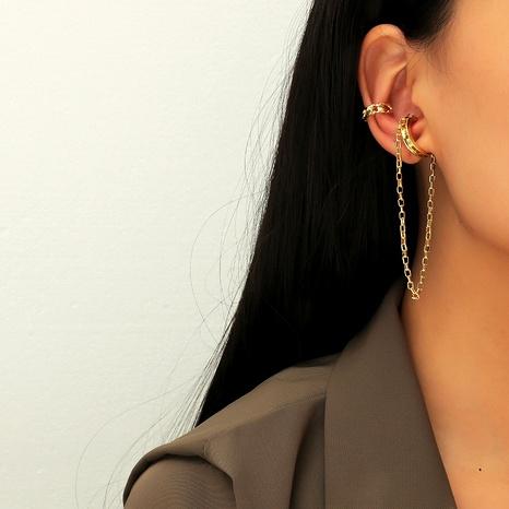 Korean  simple set ear clip NHKQ289739's discount tags
