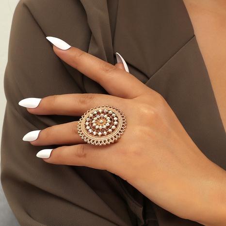 diamond retro ring NHKQ289750's discount tags