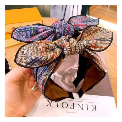 wide  simple retro fairy fabric headband NHHD289802's discount tags