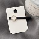 diamondencrusted fourleaf clover simple hair clip NHHI289830