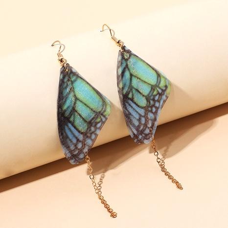 retro butterfly tassel earrings NHRN289951's discount tags