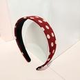 NHUX1304994-Burgundy-polka-dot-flat-headband