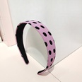 NHUX1304996-Purple-wave-point-flat-wave-point-flat-headband