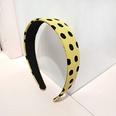 NHUX1304999-Yellow-wave-point-flat-wave-point-flat-headband