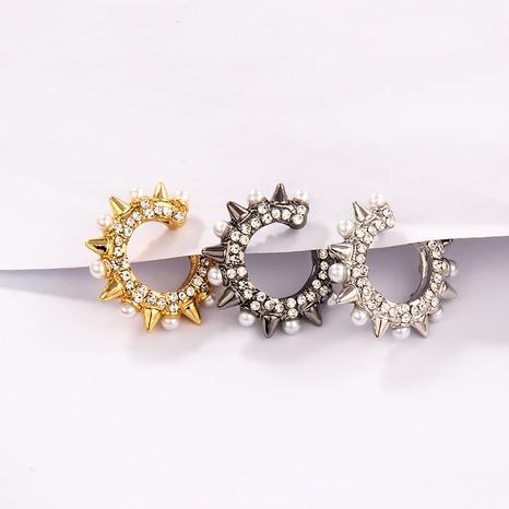 rivet pearl fashion ear bone clip NHLL290012's discount tags