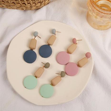 Retro resin earrings  NHLA290044's discount tags