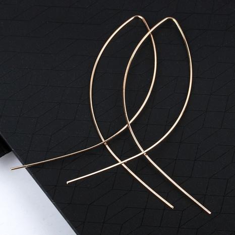 fashion metal cross fish line earrings  NHDP290046's discount tags