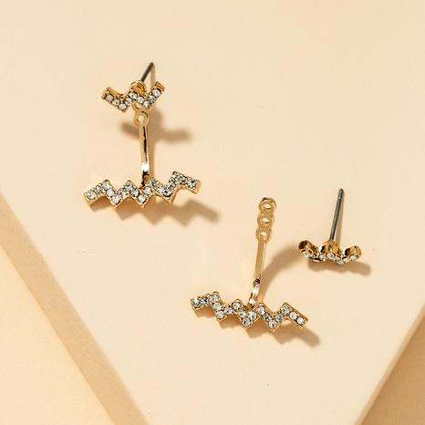 Fashion Diamond Earrings  NHGU290094's discount tags